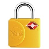 YALE Travel Lock [YTP4/25/111/2Y] - Yellow - Gembok Kombinasi